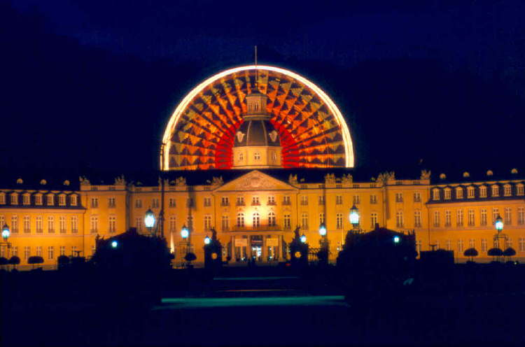 Riesenrad Karlsruhe Schloss